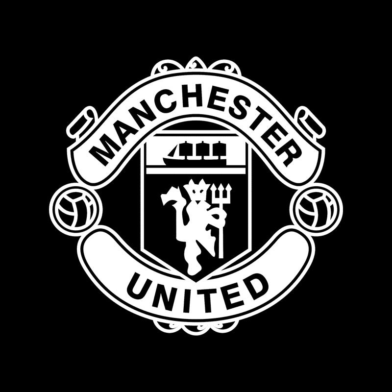 Manchester United Logo Vinyl Decal Stickers | STICKERshop.nz